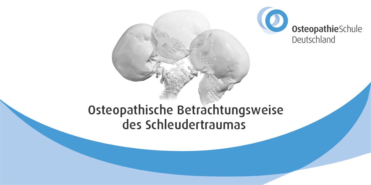 Titelbild - Osteopathische Betrachtungsweise des Schleudertraumas